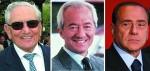 Ferrero-Del Vecchio-Berlusconi i tre paperoni italiani.jpg